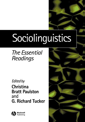 9780631227175: Sociolinguistics: The Essential Readings
