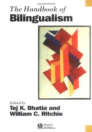 9780631227342: The Handbook of Bilingualism (Blackwell Handbooks in Linguistics)