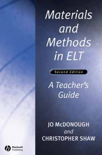 9780631227366: Materials and Methods in ELT: A Teacher's Guide (Applied Language Studies)