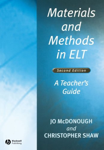 Materials and Methods in ELT: Christopher Shaw; Jo