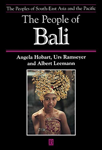 9780631227410: The People of Bali