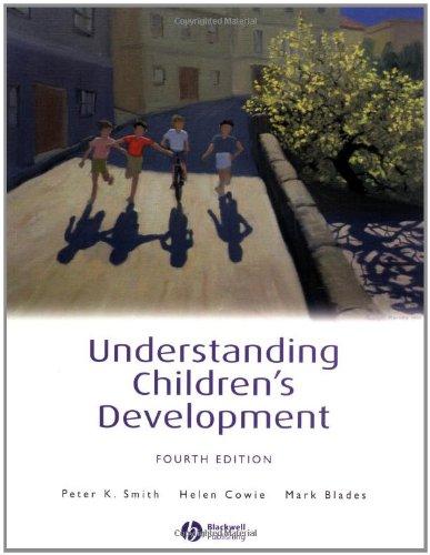9780631228233: Understanding Children's Development (Basic Psychology)