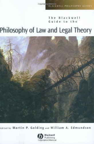 9780631228318: The Blackwell Guide to the Philosophy of Law and Legal Theory (Blackwell Philosophy Guides)