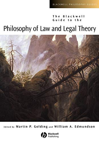 9780631228325: The Blackwell Guide To The Philosophy Of Law And Legal Theory
