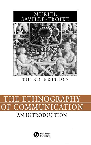 9780631228417: The Ethnography of Communication: An Introduction