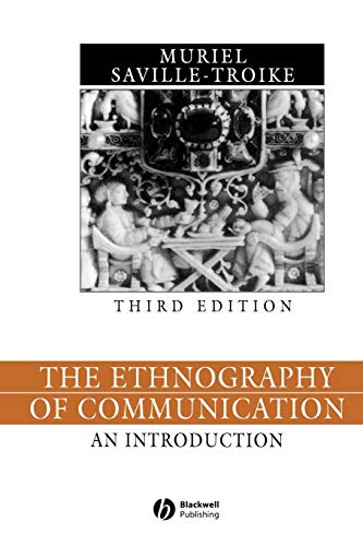 9780631228424: The Ethnography of Communication: An Introduction