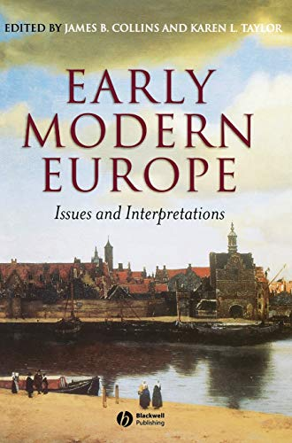 9780631228929: Early Modern Europe: Issues and Interpreations