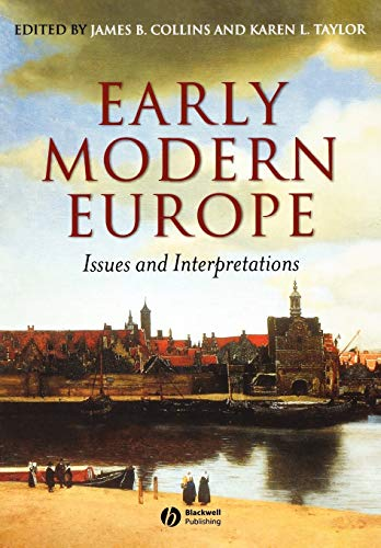 9780631228936: Early Modern Europe: Issues and Interpretations