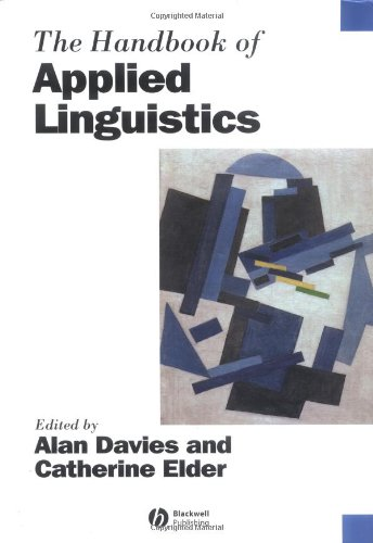 9780631228998: The Handbook of Applied Linguistics (Blackwell Handbooks in Linguistics)