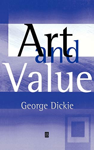 9780631229452: Art and Value