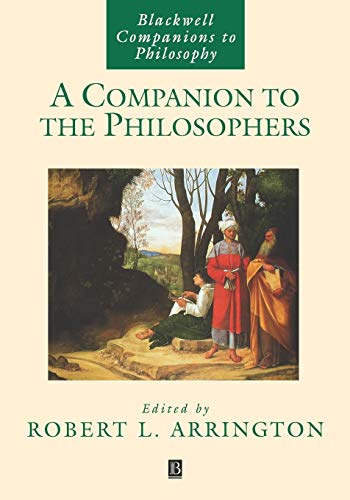 9780631229674: A Companion to the Philosophers