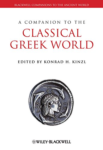 9780631230144: A Companion to the Classical Greek World (Blackwell Companions to the Ancient World)