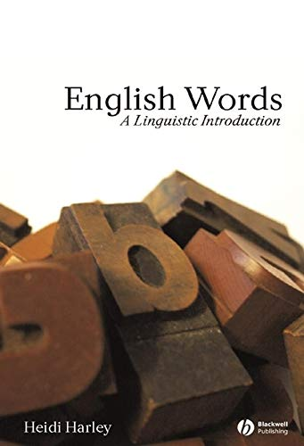 9780631230311: English Words: A Linguistic Introduction (The Language Library)