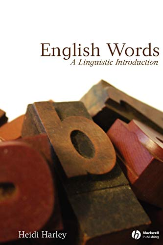 9780631230328: English Words: A Linguistic Introduction