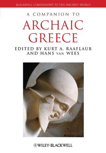 9780631230458: A Companion to Archaic Greece