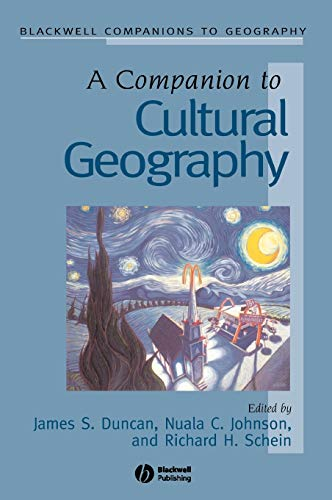 9780631230502: A Companion to Cultural Geography (Wiley Blackwell Companions to Geography)