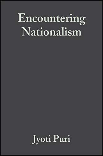 Encountering Nationalism: Jyoti Puri