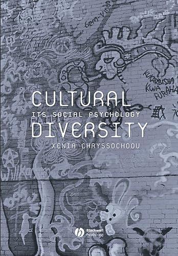 9780631231226: Cultural Diversity: Its Social Psychology