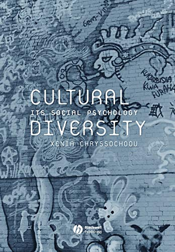9780631231233: Cultural Diversity: Its Social Psychology
