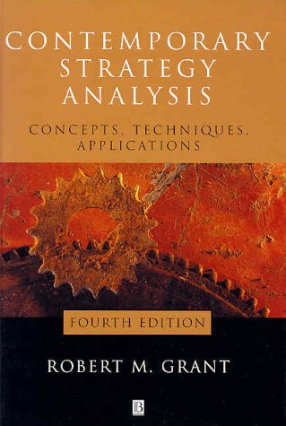 9780631231356: Contemporary Strategy Analysis: Concepts, Techniques, Applications