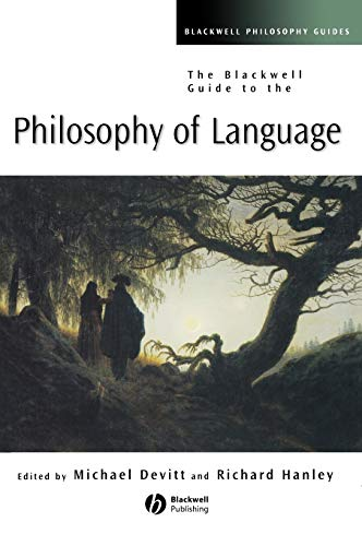 9780631231417: The Blackwell Guide To The Philosophy Of Language
