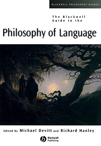 9780631231424: The Blackwell Guide To Philosophy Of Language