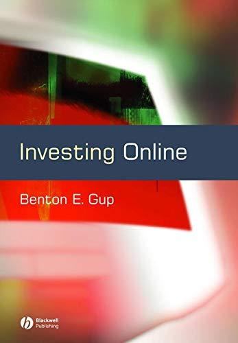 9780631231561: Investing Online