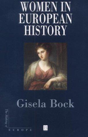 9780631231912: Women in European History (Making of Europe)