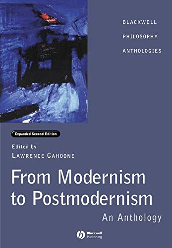 9780631232131: From Modernism to Postmodernism: An Anthology Expanded