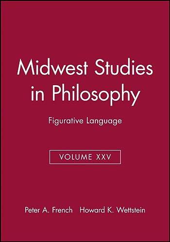 9780631232179: Figurative Language (Midwest Studies in Philosophy)