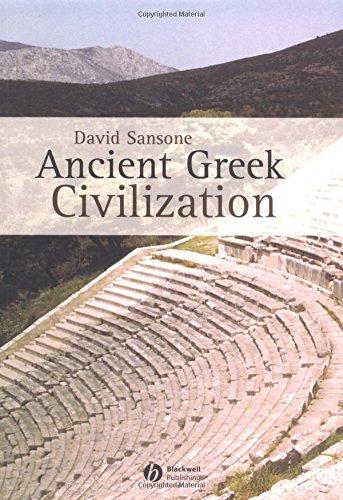 9780631232360: Ancient Greek Civilization