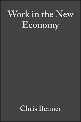 9780631232506: Work in the New Economy: Flexible Labor Markets in Silicon Valley