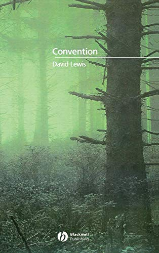 9780631232568: Convention: A Philosophical Study