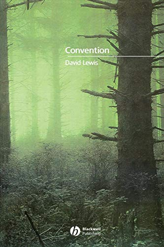 9780631232575: Convention: A Philosophical Study
