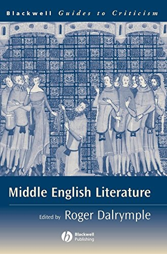 9780631232896: Middle English Literature: A Guide to Criticism (Blackwell Guides to Criticism)