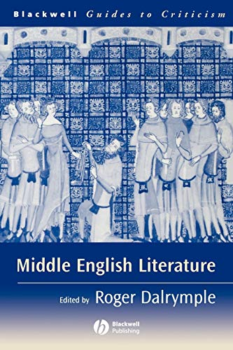 9780631232902: Middle English Literature: A Guide to Criticism