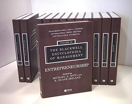 9780631233176: The Blackwell Encyclopedia of Management, 12 Volume Set