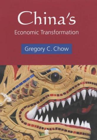 9780631233299: China's Economic Transformation