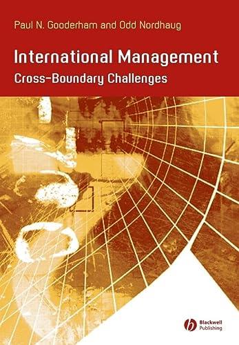 9780631233411: International Management: Cross- Boundary Challenges (Management, Organizations and Business)