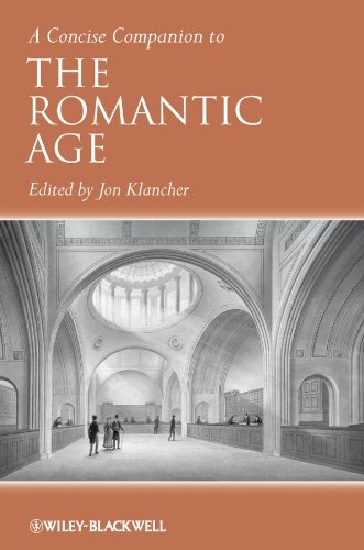 9780631233558: A Concise Companion to the Romantic Age (Concise Companions to Literature and Culture)