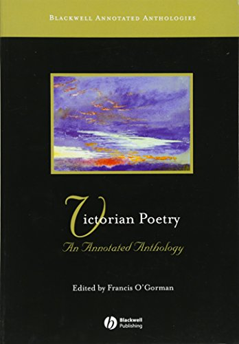9780631234364: Victorian Poetry: An Annotated Anthology
