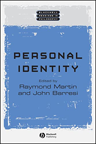 9780631234418: Personal Identity (Wiley Blackwell Readings in Philosophy)