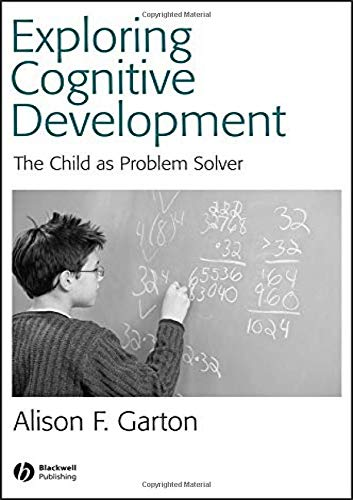 9780631234586: Exploring Cognitive Development: The Child As Problem Solver