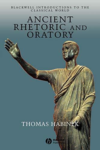 9780631235156: Ancient Rhetoric and Oratory