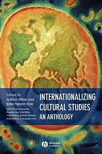 9780631236245: Internationalizing Cultural Studies: An Anthology