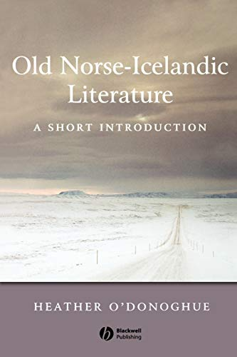 9780631236269: Old Norse-Icelandic Literature: A Short Introduction
