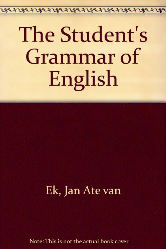 9780631900504: The Student's Grammar of English