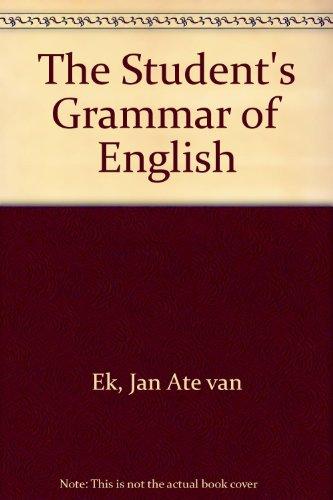 The Student's Grammar of English: Jan Ate van