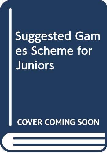 Suggested Games Scheme for Juniors Suggested Games Scheme for Juniors, Trevor, Michael David, Used, 9780631948209 The book has been read but remains in clean condition. All pages are intact and the cover is intact. Some minor wear to the spine.