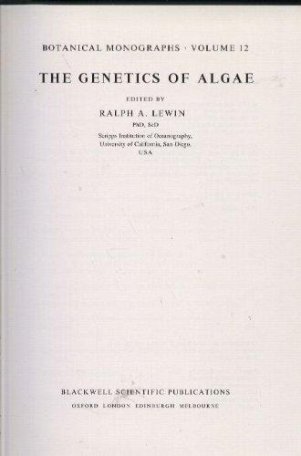 9780632000777: The Genetics of Algae (Botanical Monographs)